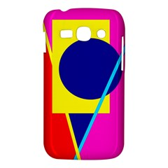 Colorful geometric design Samsung Galaxy Ace 3 S7272 Hardshell Case