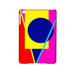 Colorful geometric design iPad Mini 2 Hardshell Cases
