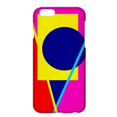 Colorful geometric design Apple iPhone 6 Plus/6S Plus Hardshell Case