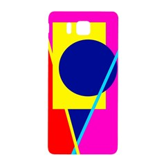 Colorful geometric design Samsung Galaxy Alpha Hardshell Back Case