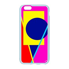 Colorful geometric design Apple Seamless iPhone 6/6S Case (Color)