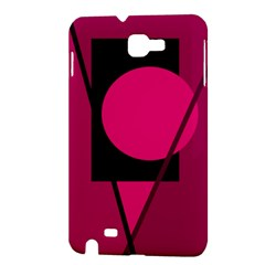 Decorative geometric design Samsung Galaxy Note 1 Hardshell Case