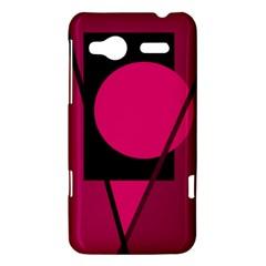 Decorative geometric design HTC Radar Hardshell Case