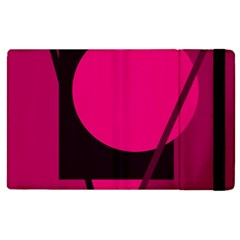 Decorative geometric design Apple iPad 2 Flip Case