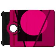 Decorative geometric design Kindle Fire HD Flip 360 Case