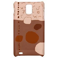 Brown abstract design Samsung Infuse 4G Hardshell Case