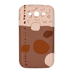 Brown abstract design Samsung Galaxy Grand DUOS I9082 Hardshell Case