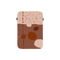 Brown abstract design Apple iPad Mini Protective Soft Cases