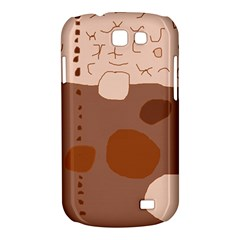 Brown abstract design Samsung Galaxy Express I8730 Hardshell Case