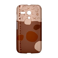 Brown abstract design Motorola Moto G