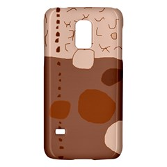 Brown Abstract Design Galaxy S5 Mini