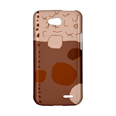 Brown abstract design LG L90 D410