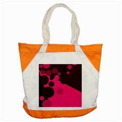 Pink dots Accent Tote Bag