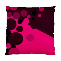 Pink dots Standard Cushion Case (Two Sides)