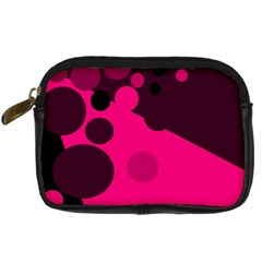 Pink dots Digital Camera Cases