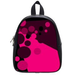 Pink dots School Bags (Small)