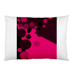 Pink dots Pillow Case (Two Sides)