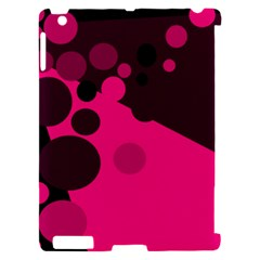 Pink dots Apple iPad 2 Hardshell Case (Compatible with Smart Cover)