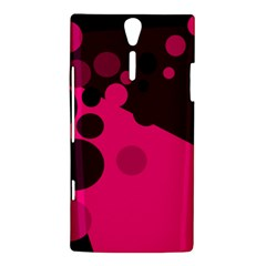 Pink dots Sony Xperia S