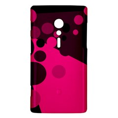 Pink dots Sony Xperia ion