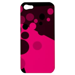 Pink dots Apple iPhone 5 Hardshell Case