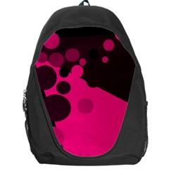 Pink dots Backpack Bag
