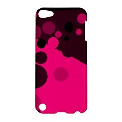 Pink dots Apple iPod Touch 5 Hardshell Case