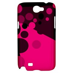 Pink dots Samsung Galaxy Note 2 Hardshell Case