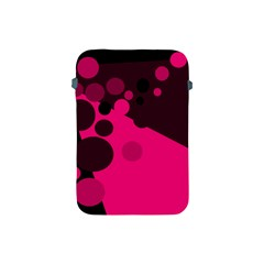 Pink dots Apple iPad Mini Protective Soft Cases