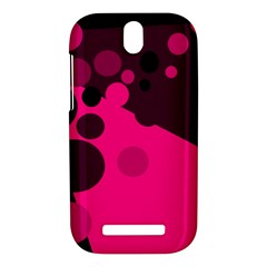 Pink dots HTC One SV Hardshell Case