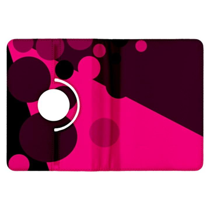 Pink dots Kindle Fire HDX Flip 360 Case