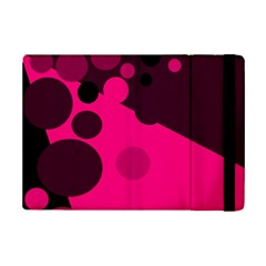 Pink dots iPad Mini 2 Flip Cases