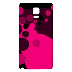 Pink dots Galaxy Note 4 Back Case