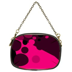 Pink dots Chain Purses (One Side)