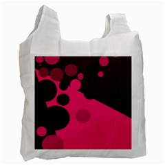 Pink dots Recycle Bag (Two Side)