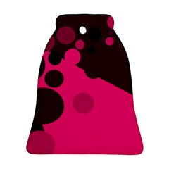Pink dots Bell Ornament (2 Sides)