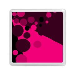 Pink dots Memory Card Reader (Square)