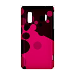 Pink dots HTC Evo Design 4G/ Hero S Hardshell Case