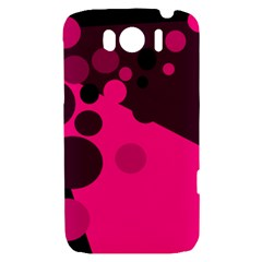 Pink dots HTC Sensation XL Hardshell Case