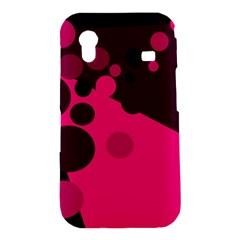Pink dots Samsung Galaxy Ace S5830 Hardshell Case