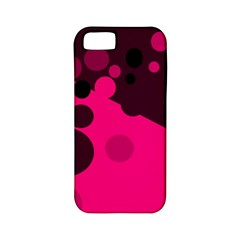 Pink dots Apple iPhone 5 Classic Hardshell Case (PC+Silicone)