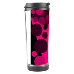 Pink dots Travel Tumbler