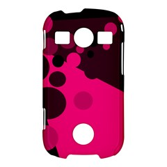 Pink dots Samsung Galaxy S7710 Xcover 2 Hardshell Case