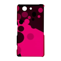 Pink dots Sony Xperia Z3 Compact