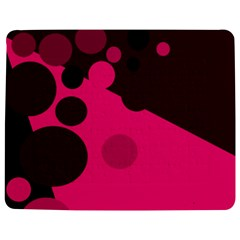 Pink dots Jigsaw Puzzle Photo Stand (Rectangular)