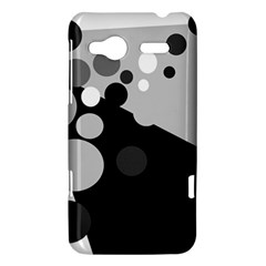 Gray decorative dots HTC Radar Hardshell Case