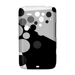 Gray decorative dots HTC ChaCha / HTC Status Hardshell Case