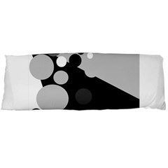 Gray decorative dots Body Pillow Case Dakimakura (Two Sides)