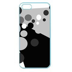 Gray decorative dots Apple Seamless iPhone 5 Case (Color)