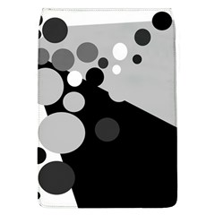 Gray decorative dots Flap Covers (L)